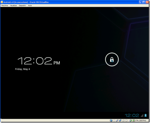 Android 4.0 Ice Cream Sandwitch (ICS) sul PC con VirtualBox