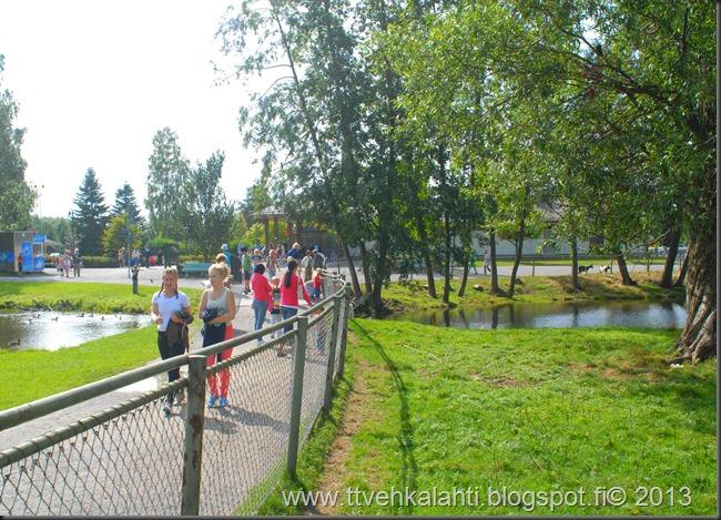 kirjurinluoto puisto potkupallo Marko ja heli maalareina 067