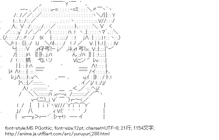 [AA]赤座あかり (ゆるゆり)