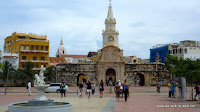 altes Stadttor von Cartagena