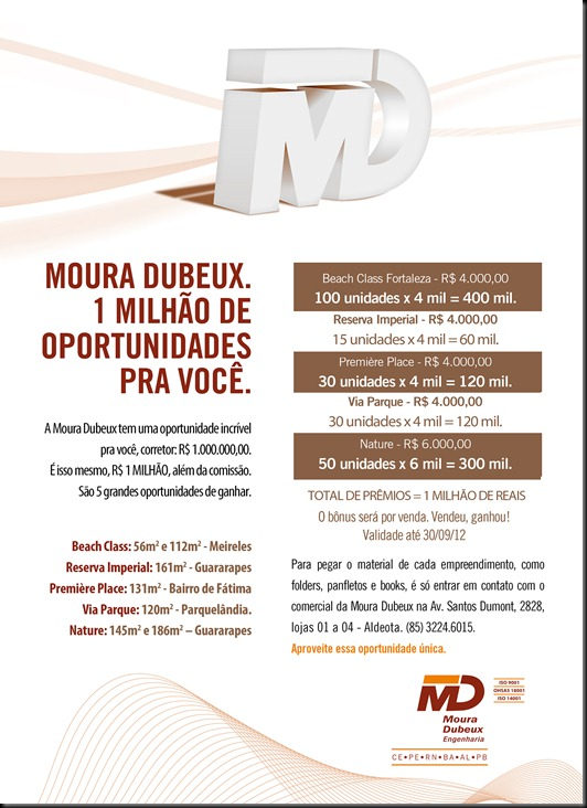 MDB 0017-12 E-MAIL MKT 1 MILHÃO