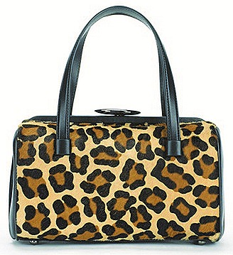 Lulu Guinness Fall Winter 2011 2012  leopard mary