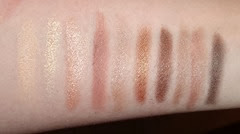 Clarins The Essentials Eye Make Up Palette_swatches (2)