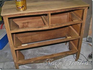10 Oak dresser DUR