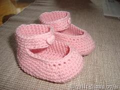 gehäkelte Schuhe I