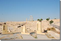 Oporrak 2011 - Jordania ,-  Ciudadela de Amman , 19 de Septiembre  07
