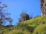 'Tebing', the stone cliff, Gn Sumbing (Daniel Quinn, May 2010)