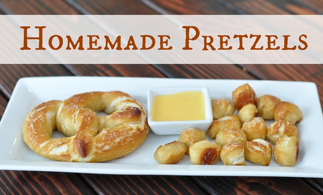 Homemade Pretzels by Decor and the Dog