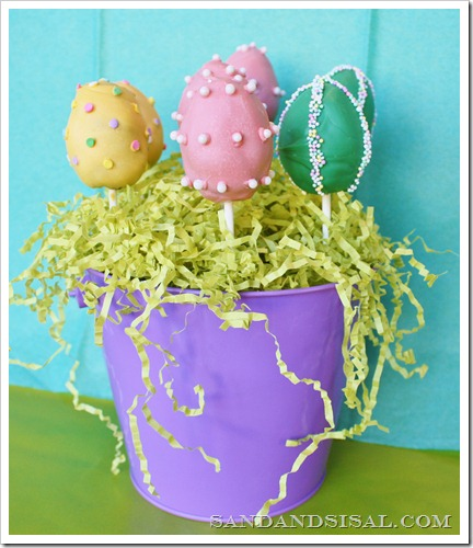 Easter Egg Brownie Pop Pail