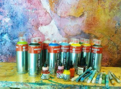 Pintura acrílica en nuevas presentaciones