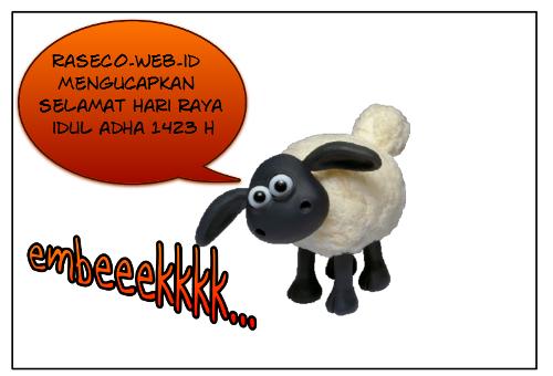"""Raseco.web.id mengucapkan """"Selamat Hari Raya Idul Adha 1423 H 2011 M [06-11-2011]"""""""