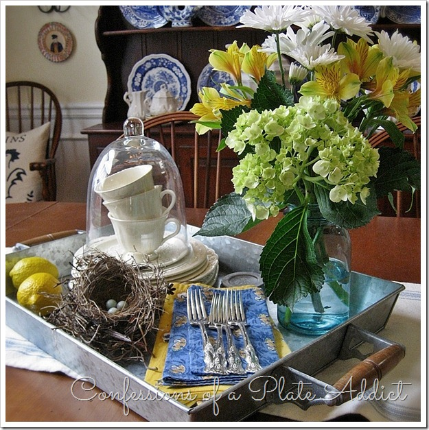 CONFESSIONS OF A PLATE ADDICT Summer Centerpiece