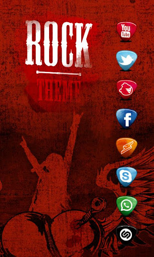 ROCK Music ADW Theme HD