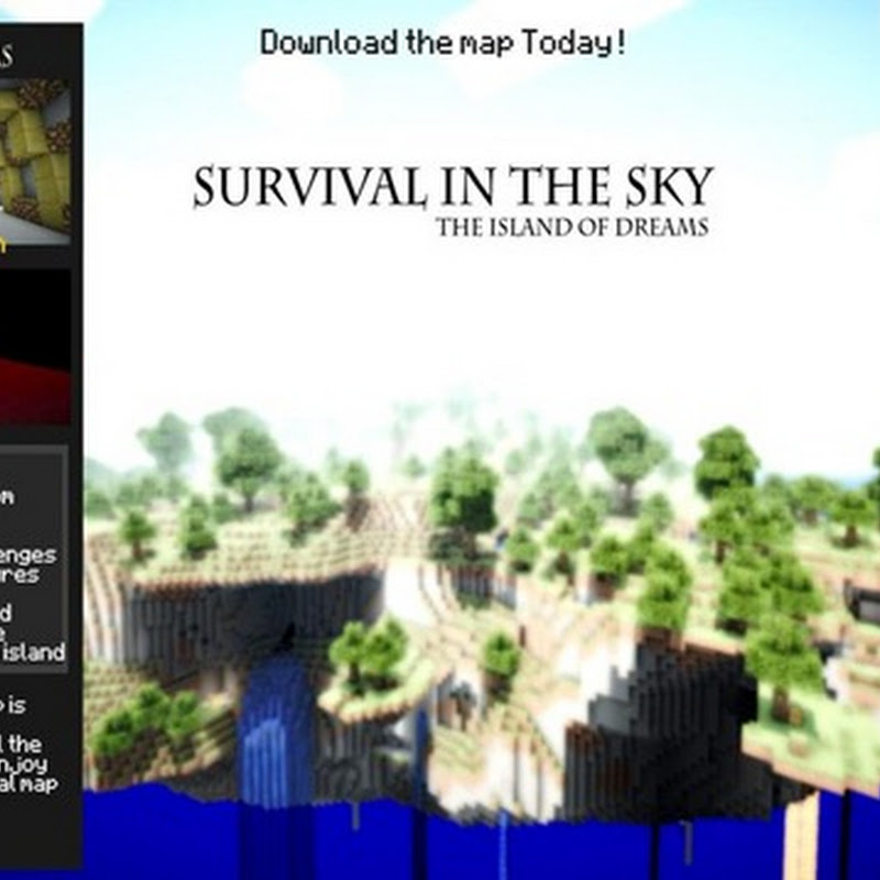 Minecraft 1.3.2 - Survival in the Sky Map
