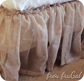 Window Scarf Bedskirt
