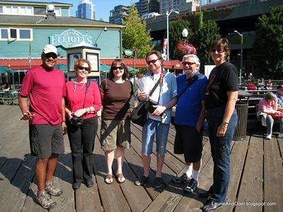 Odel, Margaret, Linda, Steven, Fred, Jo