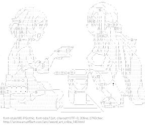 [AA]Lizbet & Asuna (Sword Art Online)