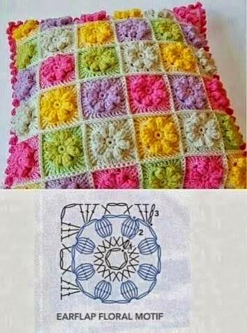 Granny square uncinetto schemi uncinetto piastrella piccola - Schemi per piastrelle all uncinetto ...
