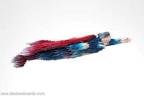 arte com tubos de pvc 3D velocidade desbaratinando  (3)