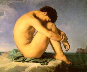 jeune-homme-nu-jean-hippolyte-flandrin-1855