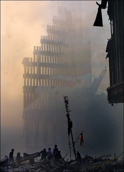 SEPT 11 NYC AFTERMATH