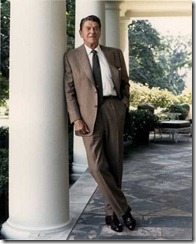 Ronald_Reagan_posing_on_the_White_House_Colonnade_1984 (from WikiMedia Commons)