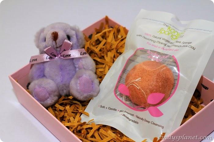Konjac Sponge Pink Clay1