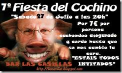 VII Fiesta del cochino