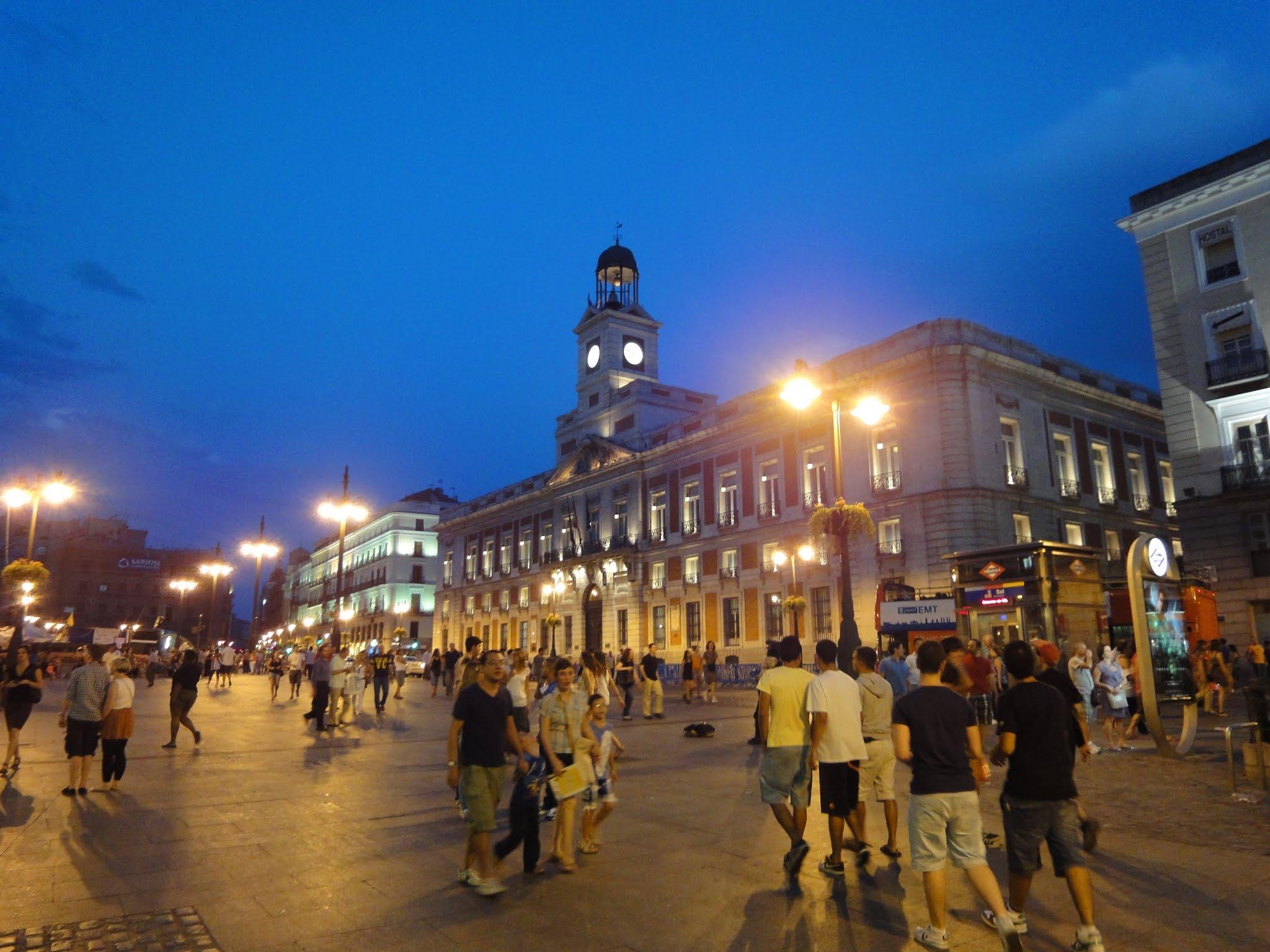 Place puerta del sol nicolas79 voyages d couvertes for Puerta del sol ahora