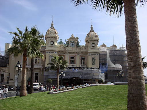The genuine Monte Carlo Casino, Monaco