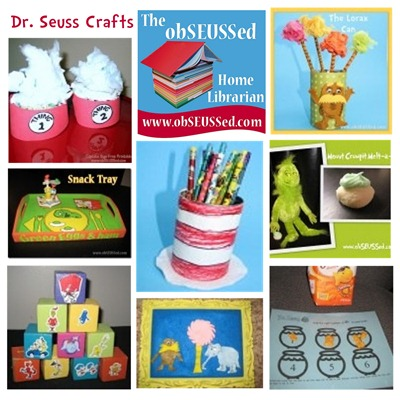 ObSEUSSed Dr Seuss Crafts