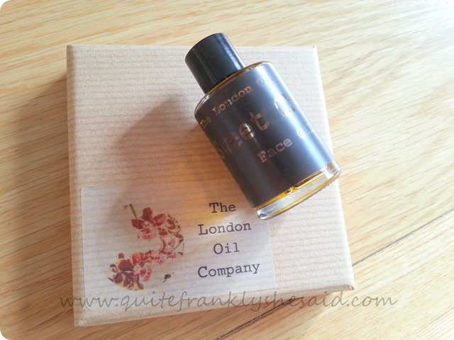 The London Oil Company Sweet Cheeks Face Oil  2