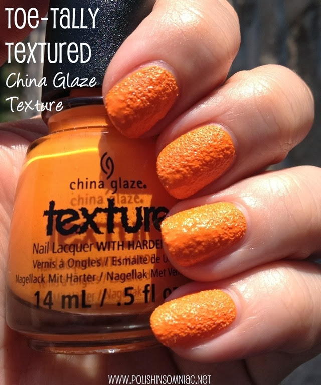 China Glaze Toe-Tally Textured