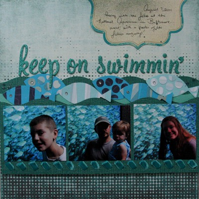 22) Keep on Swimmin'