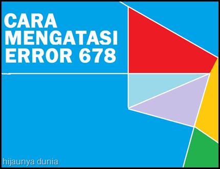 ERROR 678