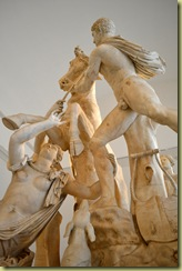 Farnese Bull detail 5