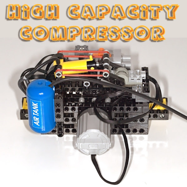 High Capacity Pneumatic Compressor