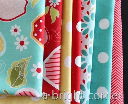 apple of my eye fabric stack 2