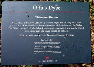 Offa's Dyke - Tidenham Section
