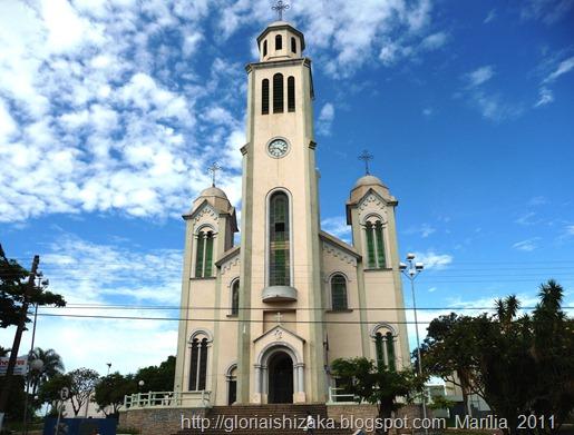 Brasil - Marília -Igreja de Santo Antonio - Glória Ishizaka