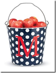 Personalized Dots Bucket