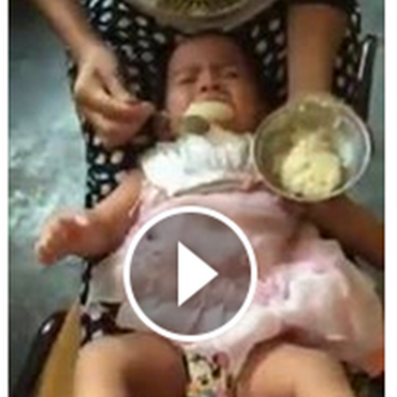Video dera bayi di Facebook