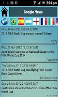 Screenshot of Brazil 2014 World Cup
