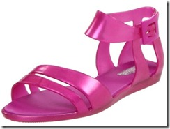 Melissa Star flat Sandals in pink