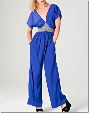 Blue Closet Embellished