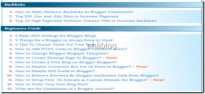 blogger-icindekiler-sayfasi