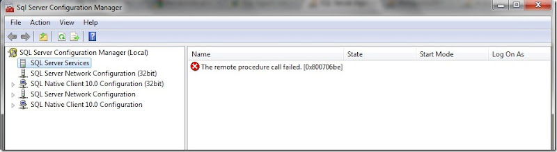 remote-call-failed