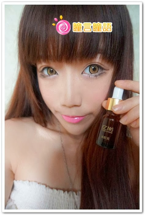 日本EOS隱形眼鏡-(Dolly Eye)King Size咖DSC07812