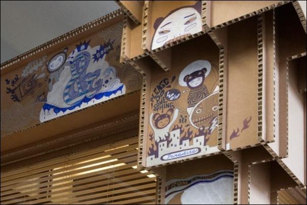 Des bureaux en carton (5)