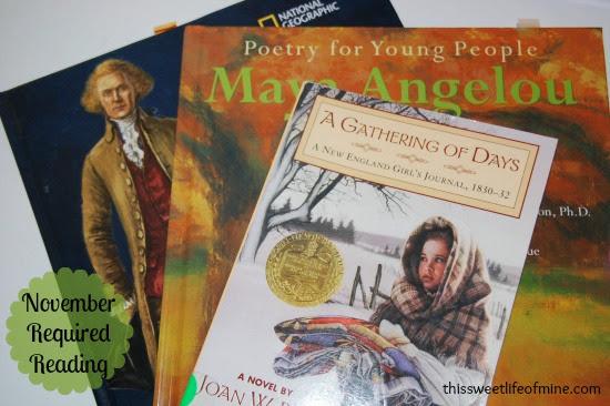 Books for November
